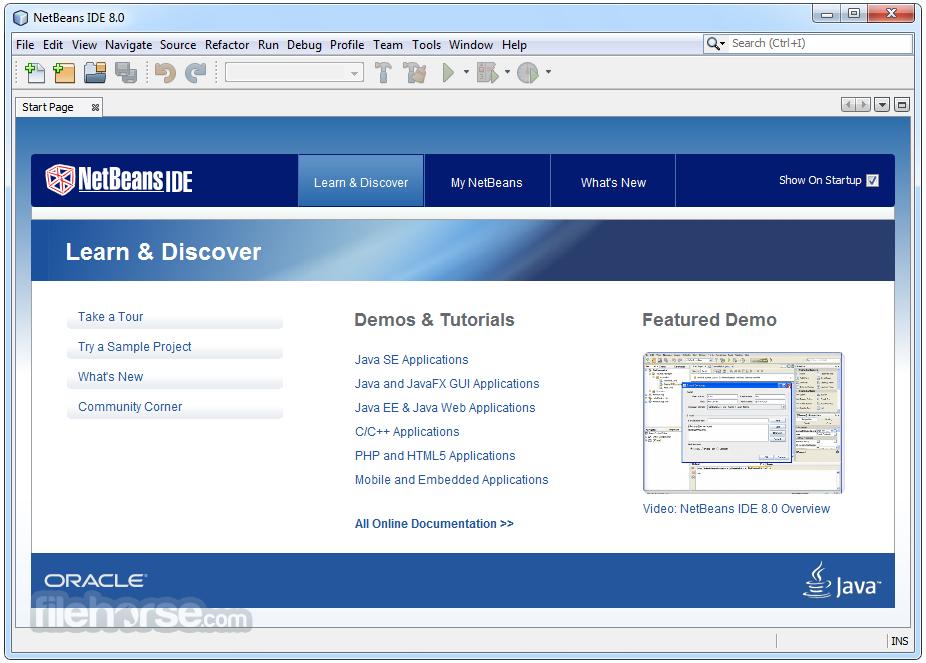 Download netbeans ide 8. 1 filehippo. Com.