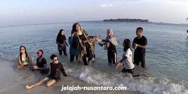 rencana perjalanan wisata pulau harapan