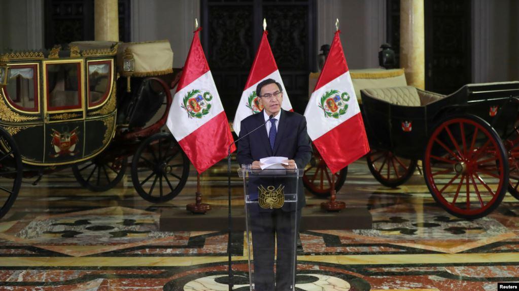 Martín Vizcarra fue ratificado como presidente de Perú hasta el año 2021 y no renunciará al cargo como solicitó la oposición / REUTERS