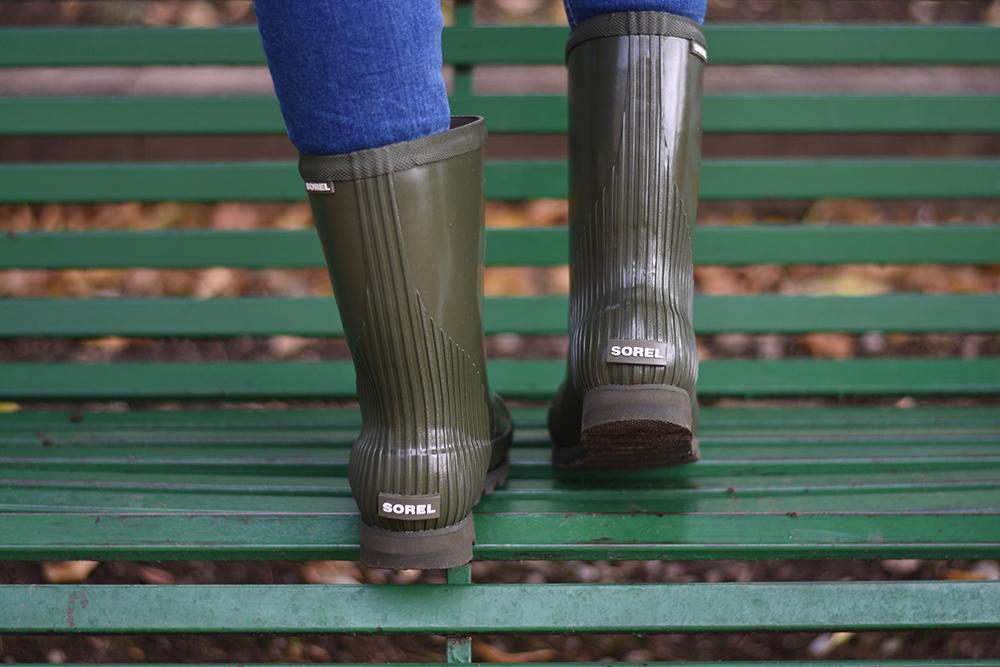 Stivali da pioggia Come indossarlianche quando non