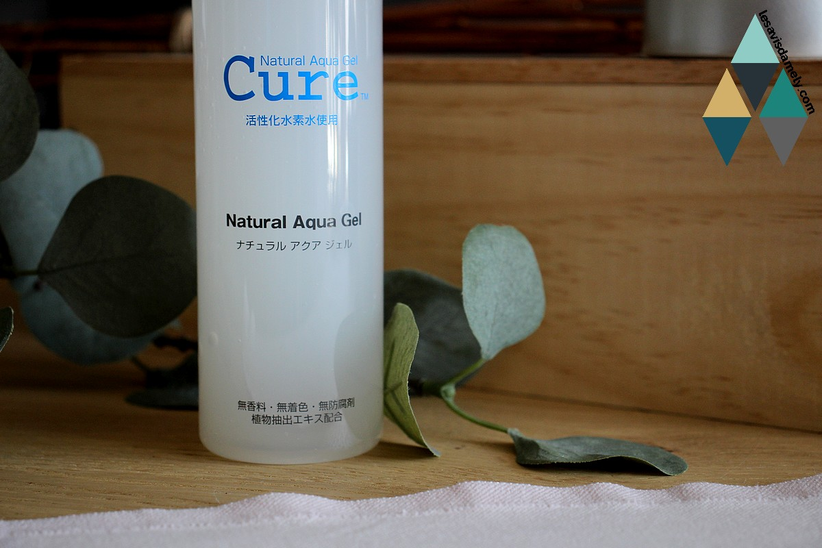 avis Natural Aqua Gel Cure best seller japon produit beauté