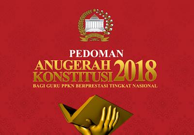 anugerah konstitusi guru pkn 2018