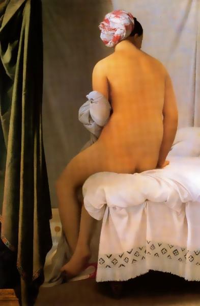 La banyista de Valpinçon (Jean-Auguste Dominique Ingres)