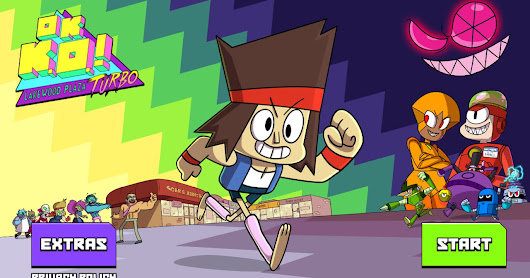 Juego ¡OK K.O.! Plaza Lakewood Turbo para iOS y Android