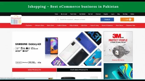 Ishopping.pk Best eCommerce business in Pakistan