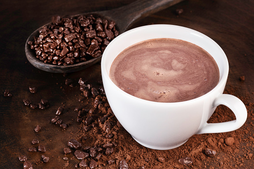 Hot chocolate recipe | Homemade hot chocolate | Hot cocoa mix | 5 minutes recipe