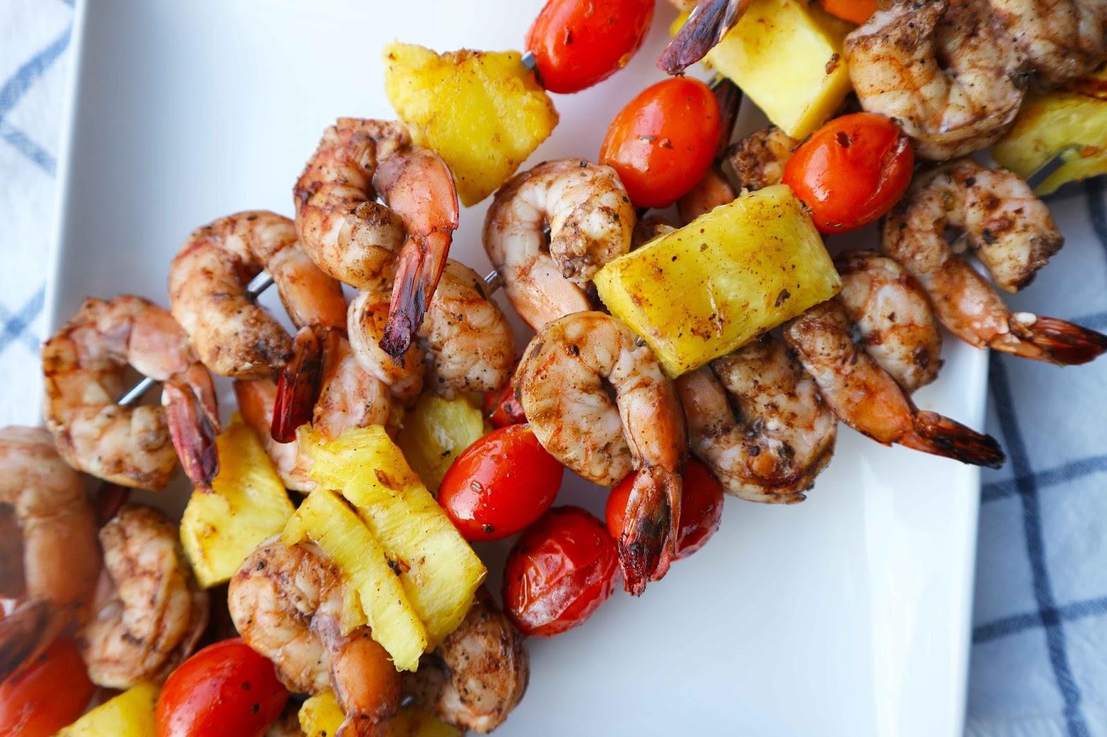 Jerk Shrimp Pineapple Rice
