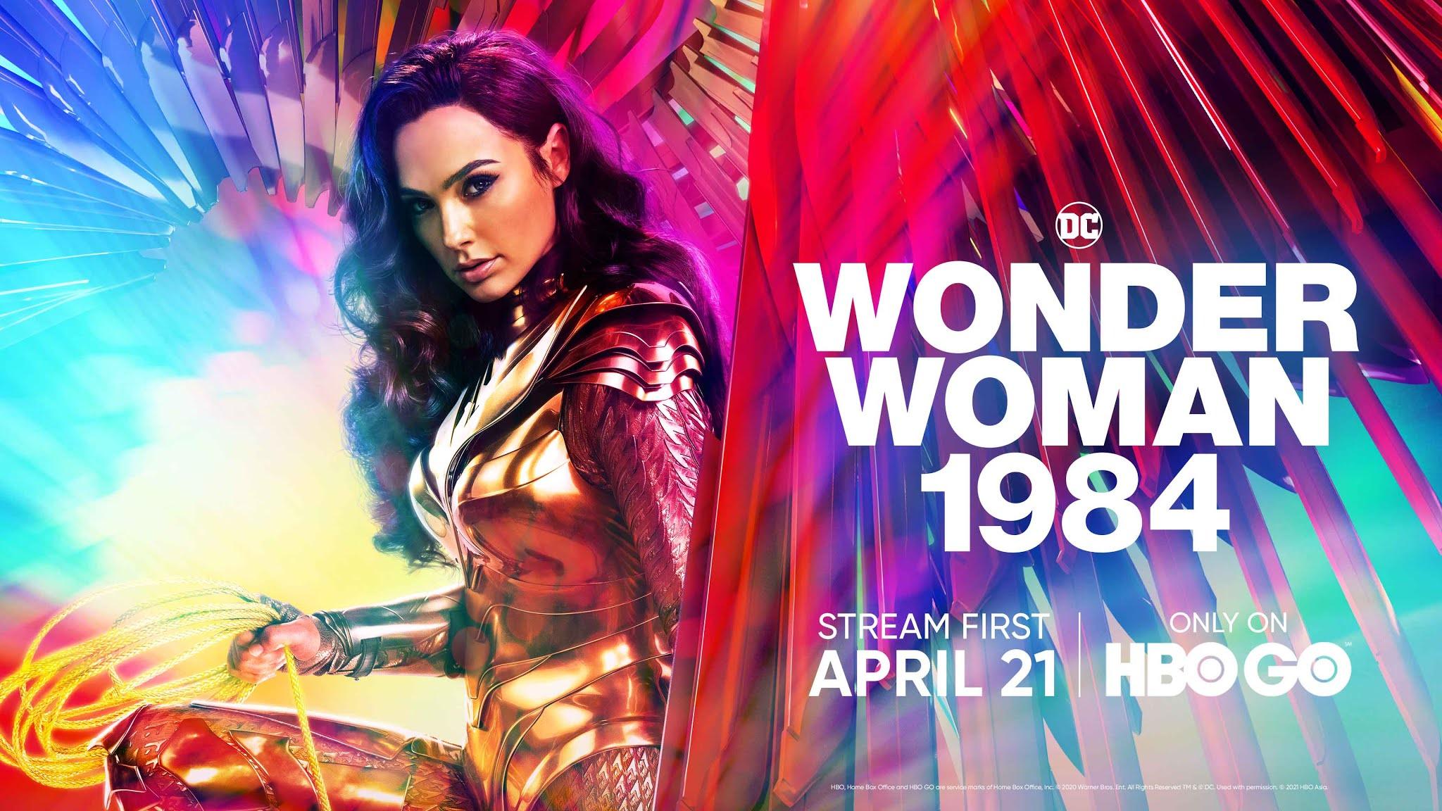 Wonder Woman 1984 HBO GO