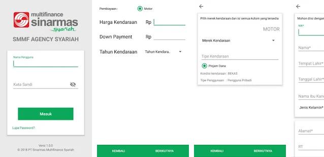 Aplikasi SMMF Syariah Agency