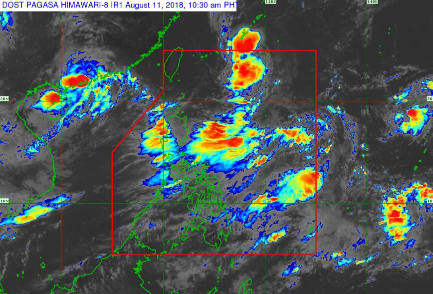 Tropical Storm Karding is now outside the Philippine Area of Responsibility (PAR).