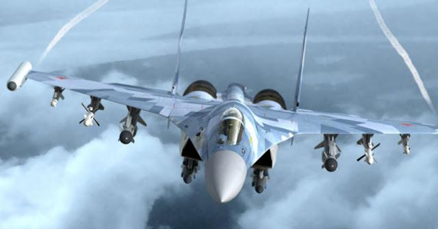 """Μεσόγειος: """"Συναντήθηκαν"""" ρωσικά και αμερικανικά μαχητικά"""