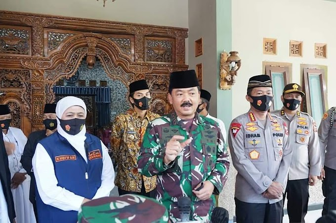 Kunjungi Ponpes Tangguh Semeru di Kabupaten Madiun, Ini Kata Panglima TNI dan Kapolri