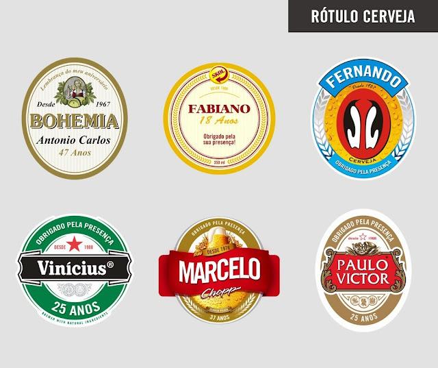 Brindes: Sua Festa Personalizada com Rótulo de Cerveja