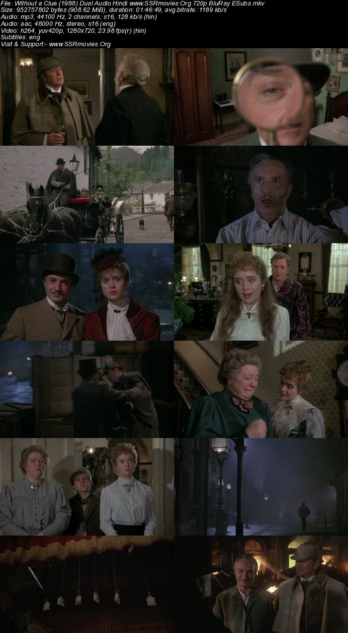 Without a Clue (1988) Dual Audio Hindi 720p BluRay