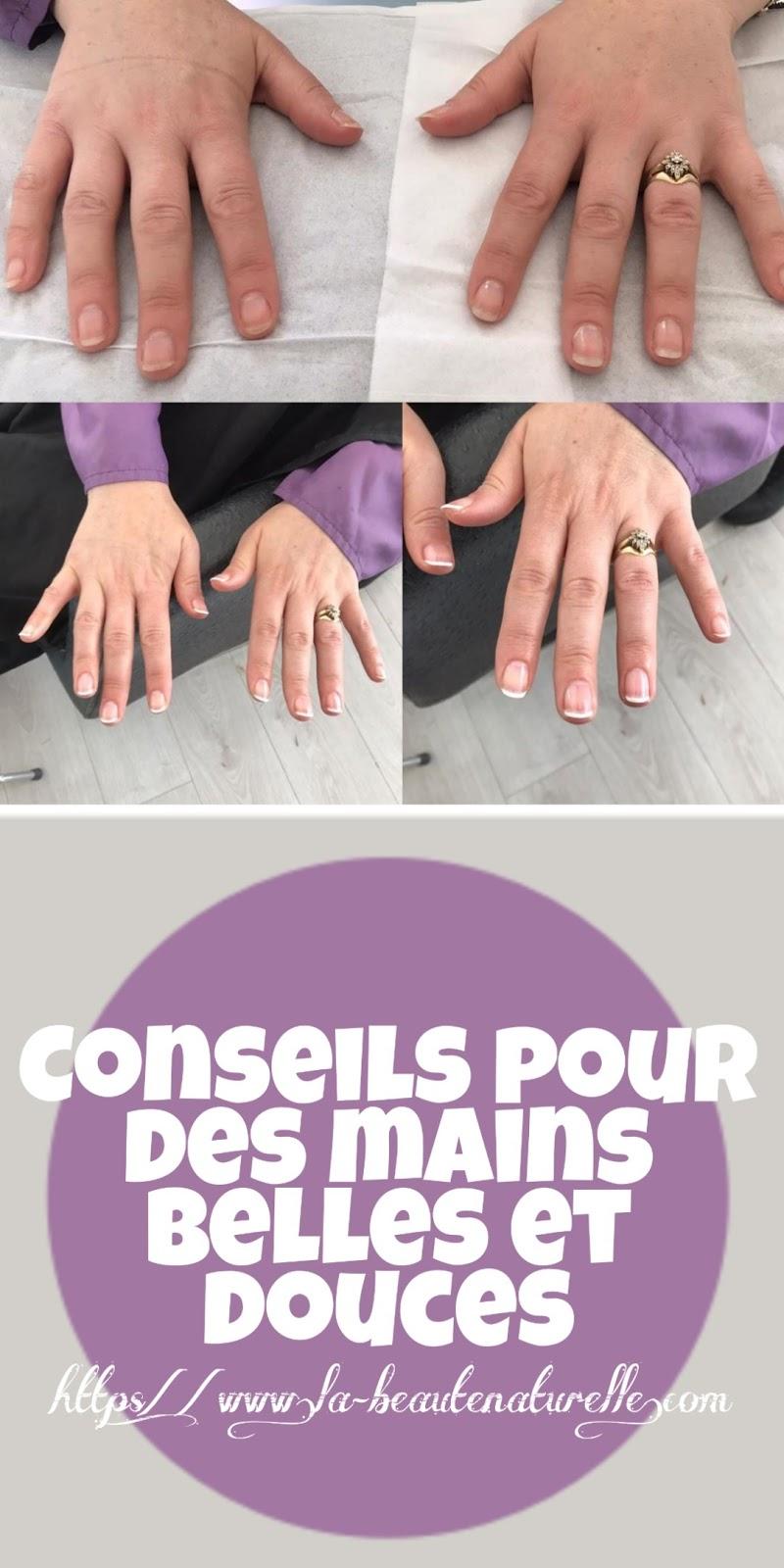 Conseils pour des mains belles et douces