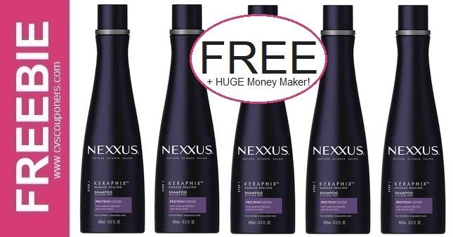 Nexxus Shampoo CVS Freebie 11-8-11-14