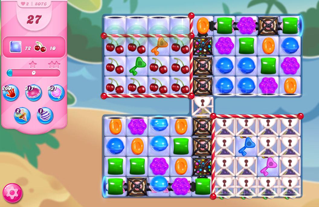 Candy Crush Saga level 8076