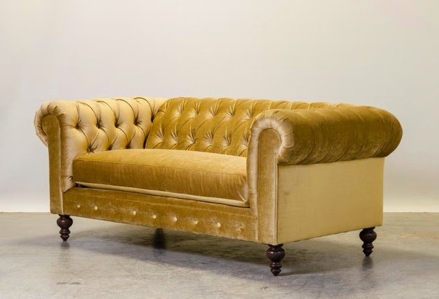 Emerald Corner Sofa Bed Slide Over Table Gold Velvet – Thesofa