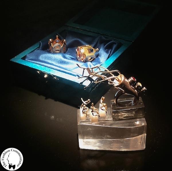 Mostra Gioielli d'artista Firenze -  Chiara Magazzini - Silenzio, prego!, anello, 2013