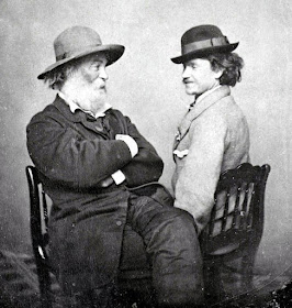Whitman and Peter Doyle, one of the men with whom Whitman was believed to have had an intimate relationship