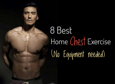 Home Chest Workout With No Equipment