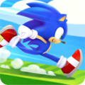 لعبة سونيك القنفذ السريع Sonic Dash للاندرويد apk