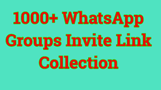 1000+ WhatsApp Groups Link Collection. It's time to share all Whatsapp Groups Invite Links one by one with their specified category. No need to check all groups, directly go to your desired Section and join any group in a single click.