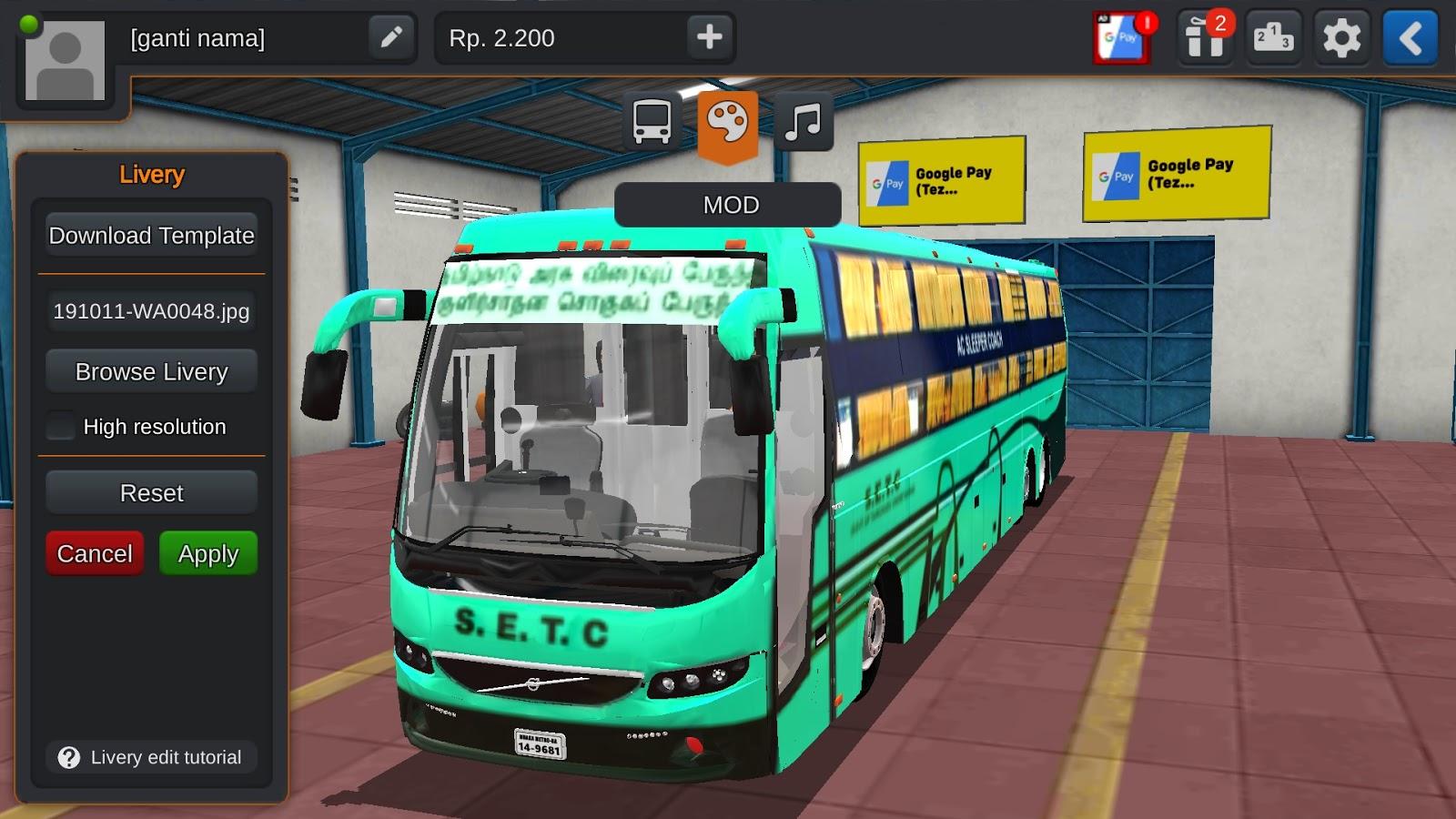 Bus Simulator Indonesia Mod Bussid Mod Download Tamilinfoworld
