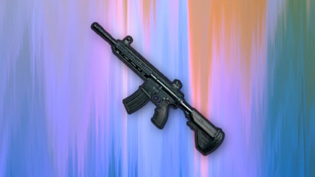 Senjata Assault Rifle PUBG - M416