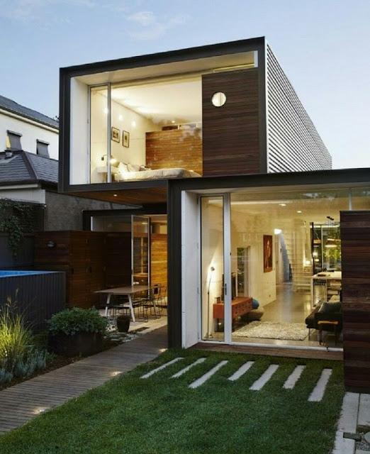 Minimalist 2-Story Open House