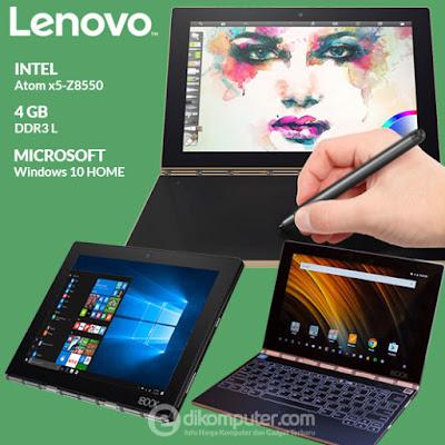 Harga Notebook Lenovo Yoga Book Windows 10