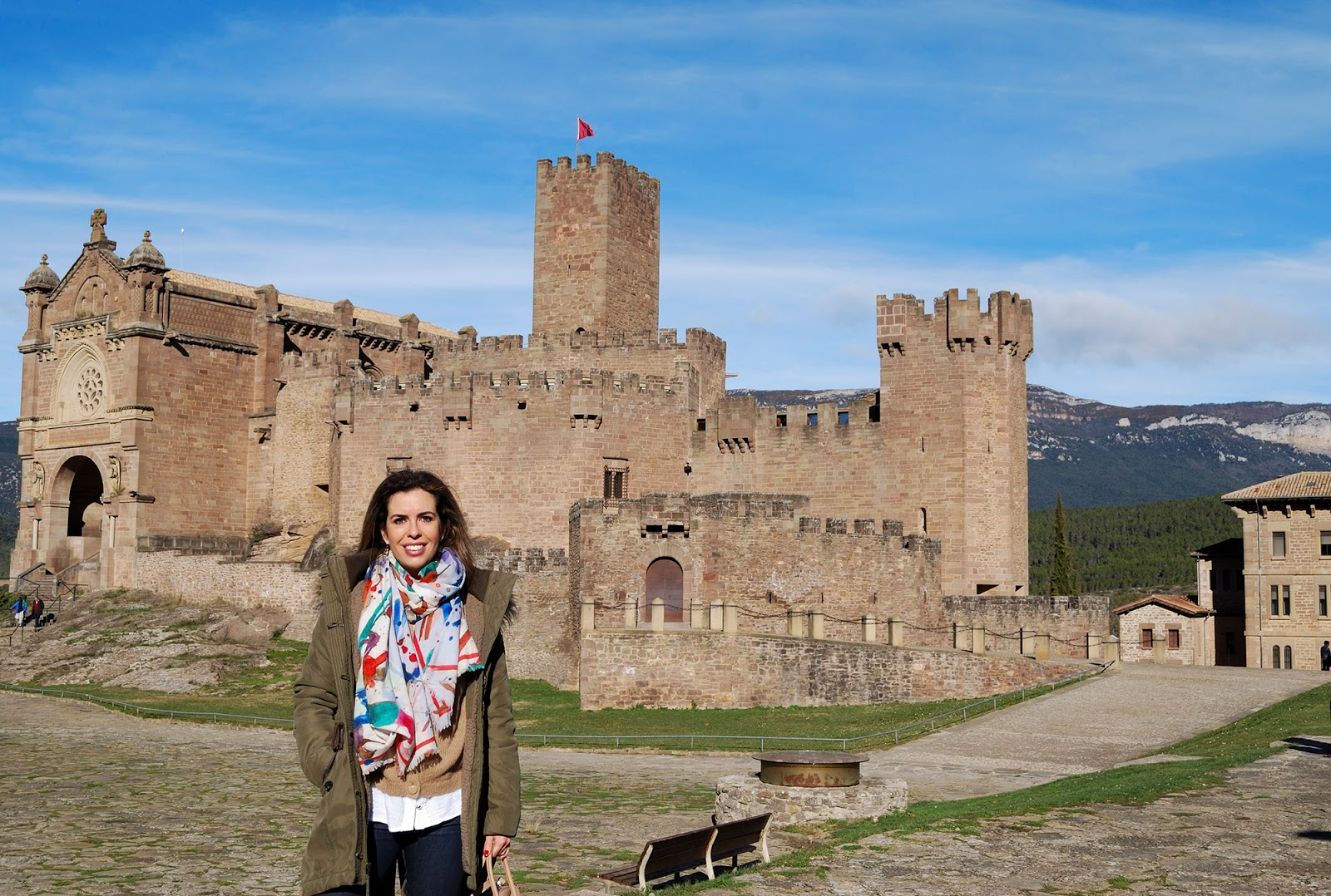 castillo castle javier navarra spain