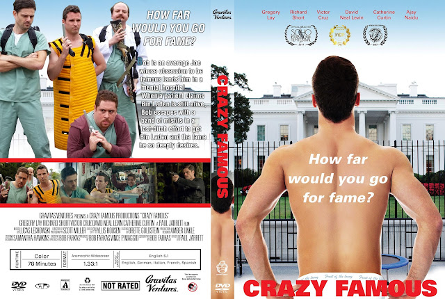 Crazy Famous DVD Cover