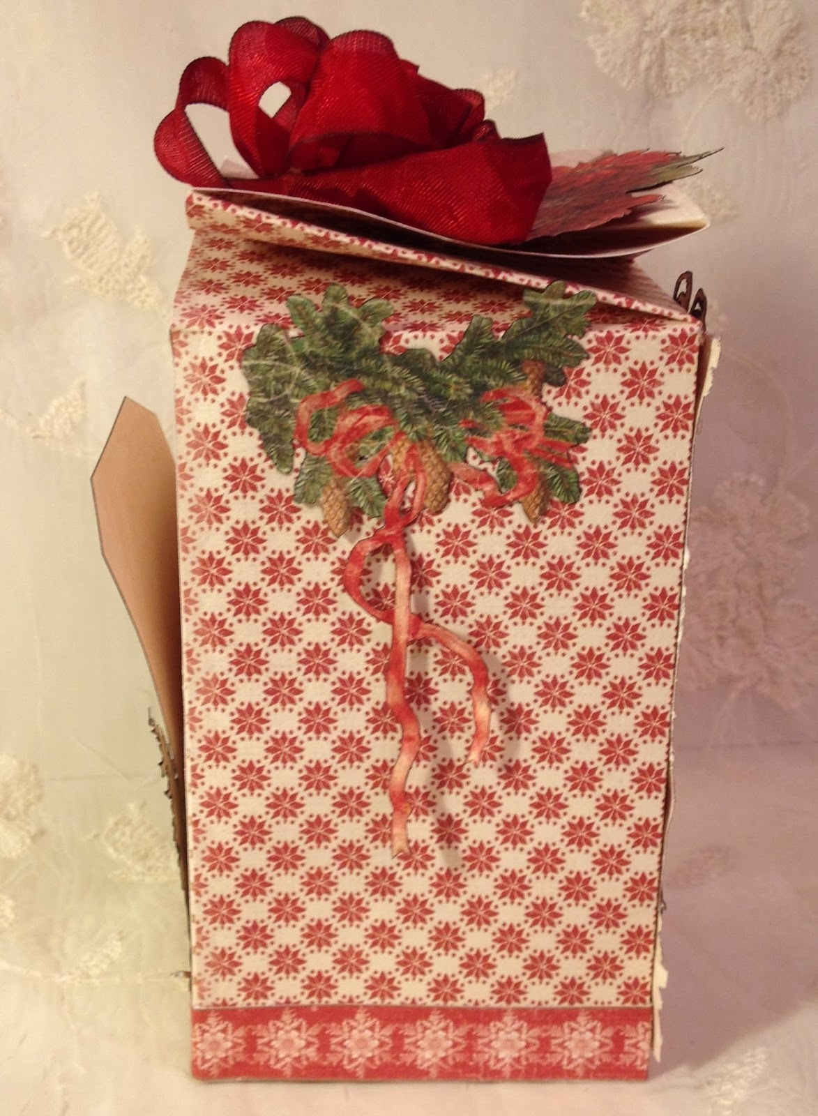Annes Papercreations Tutorial Twisted Christmas Gift