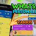 WhatsApp Personalizado-Vários Temas