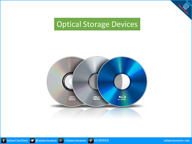 Write short notes on Optical Storage Device