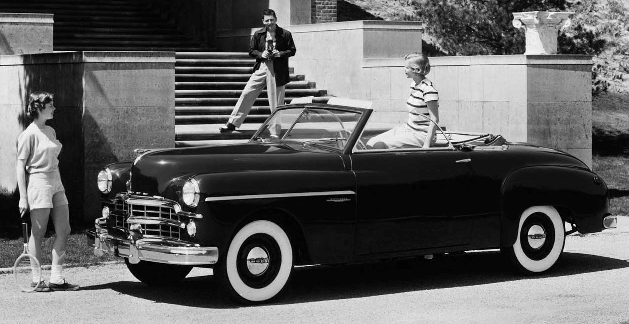 Car Style Critic The Transitional 1949 Dodge Wayfarer Line Coronet 2 Door This Is A Business Coupe Coupes Had Only One Bench Seat But Allowed For Larger Trunk Space Hauling Related Items