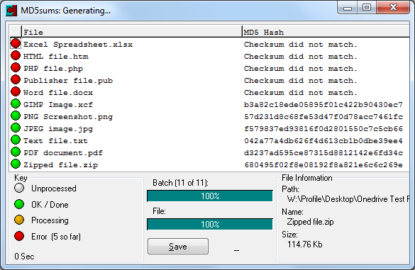 Microsoft OneDrive Secretly modifying Your BackUp Files