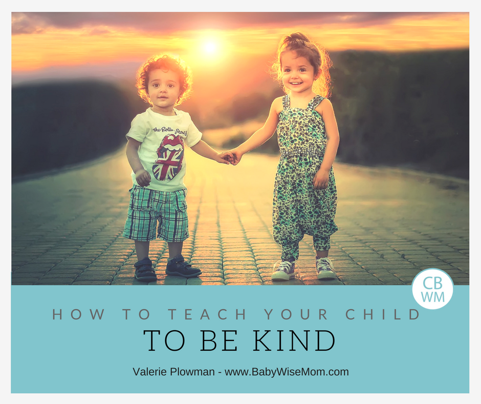 How To Teach Your Child To Be Kind