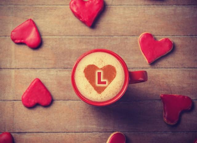 حرف l احبك
