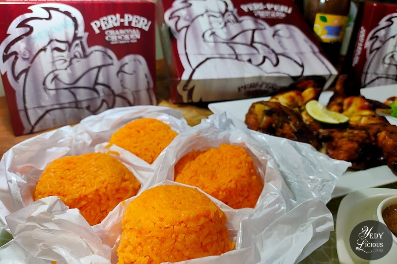 Java Rice at Peri-Peri Charcoal Chicken and Grill Philippines