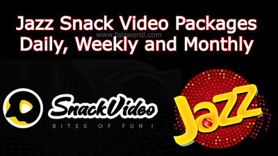 Jazz Snack Video Packages Daily, Weekly and Monthly