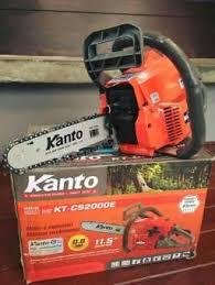 จัดส่งฟรี!! ถูกที่สุด KANTO เลื่อยยนต์ KT-CS2000E 11.5 บาร์ 2 จังหวะ 0.8 แรงม้า ฟรี!! โซ่ 2 เส้น