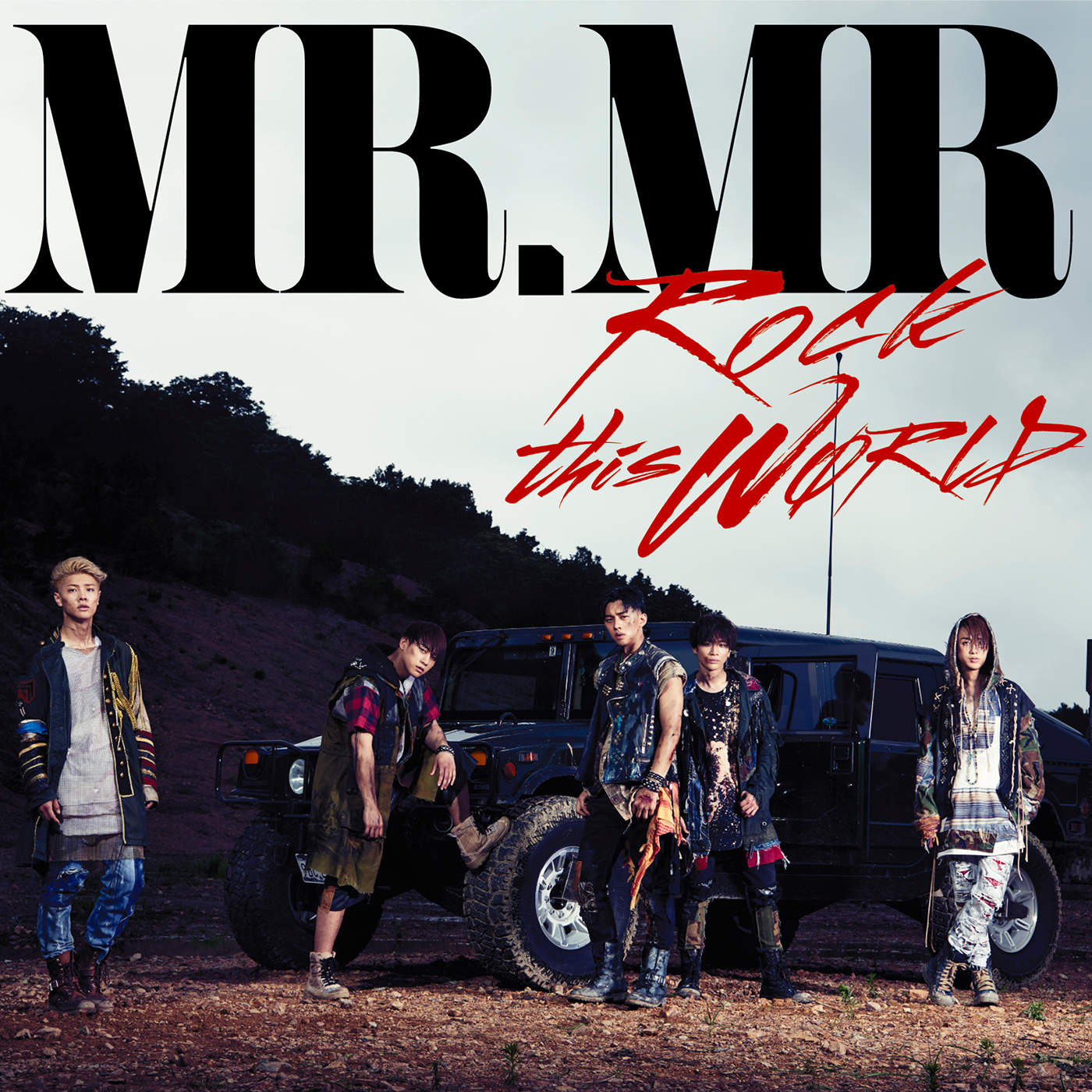 MR.MR – ROCK this WØRLD (Japanese) – EP (ITUNES PLUS AAC M4A)