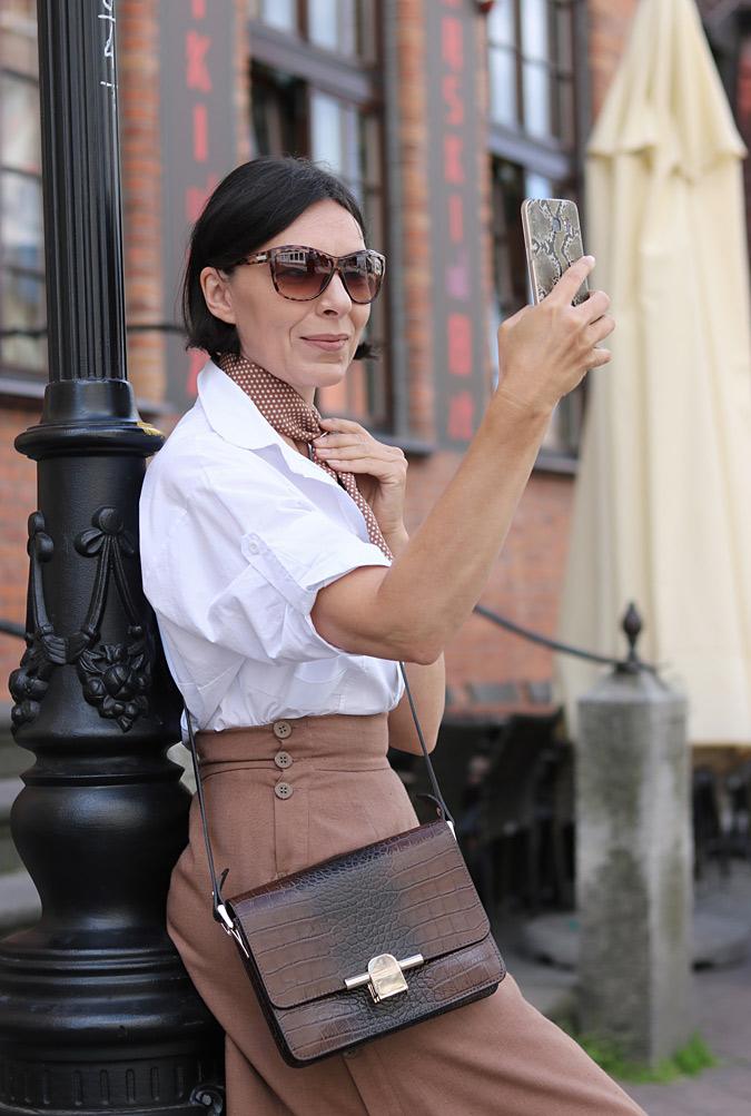 Spódnico-spodnie długie