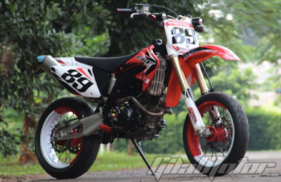 Jupiter Mx Modifikasi Trail