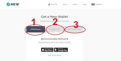 باختصار شرح طريقة فتح محفظة MyEtherWallet و اخر التحديثات