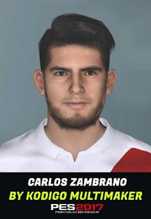 PES 2017 Faces Carlos Zambrano by Kodigo