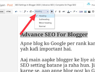 Advanced SEO Settings For Blogger 2020 | Complete On Page SEO
