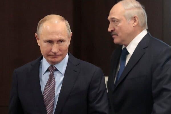 Ông Putin sẵn sàng hỗ trợ Tổng thống Lukashenko về quân sự nếu cần